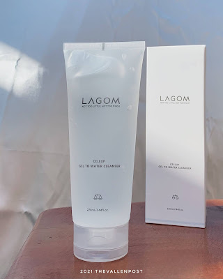 review Lagom Cellup Gel To Water Cleanser
