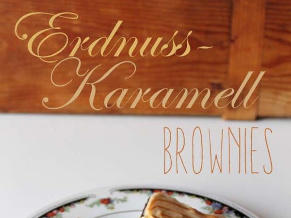 Erdnuss-Karamell-Brownies - süße Kleinigkeiten, handgemacht von Herzen