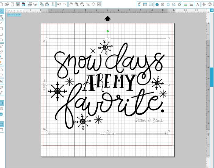 Snow days are my favorite!