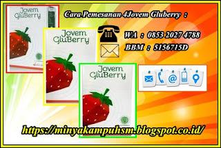 Cara Pesan Gluberry Drink Dari Jovem, pemesanan hubungi edelweis whatsapp : 0853 2027 4788, bbm : 5156715D