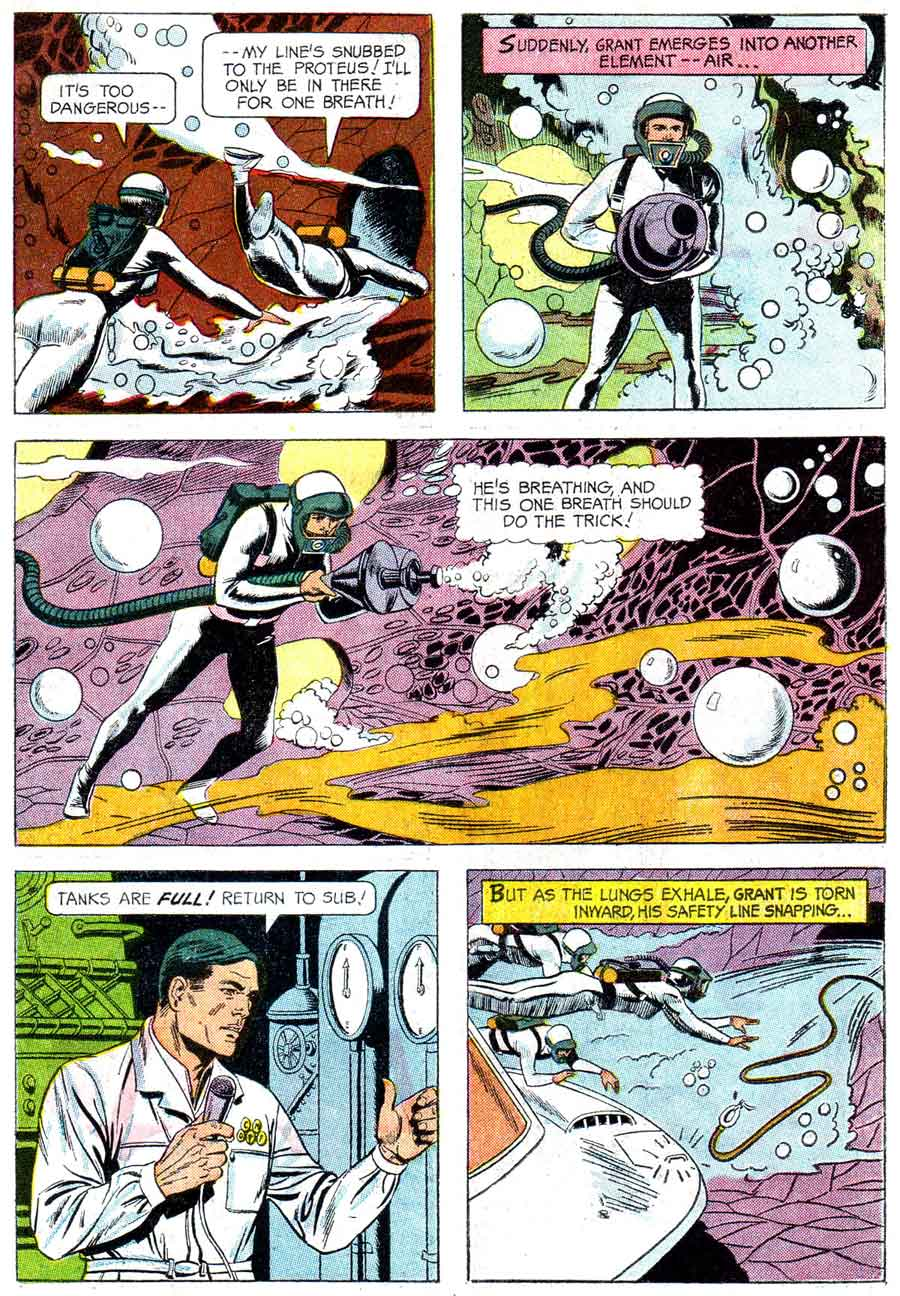 Fantastic Voyage - Wally Wood silver age 1960s gold key movie comic book page art