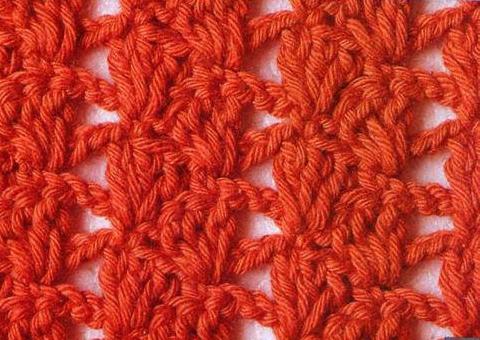 Patrón #1099: Punto Cerrado a Crochet