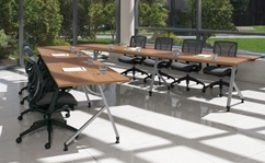 Modular Boardroom Table Configuration