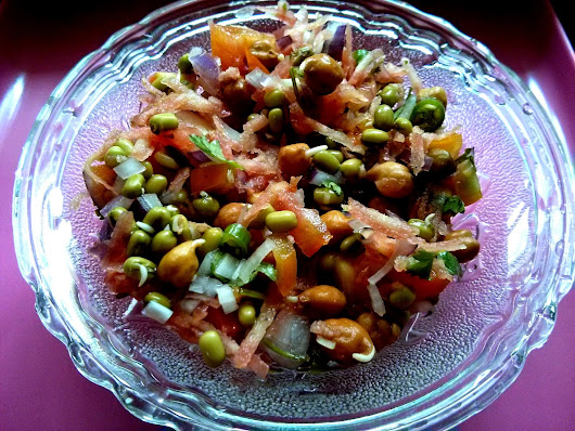 Healthy Sprouts Salad Recipe