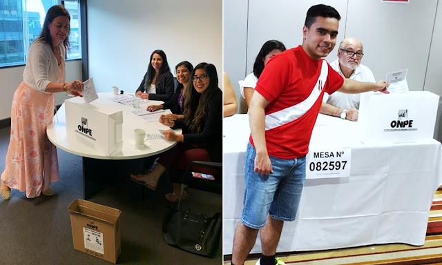 Elecciones congresales 2020, peruanos en Nueva Zelanda inician proceso electoral