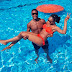 Jude Ighalo, His Wife and Kids Looking Cool In Swimswear Photos