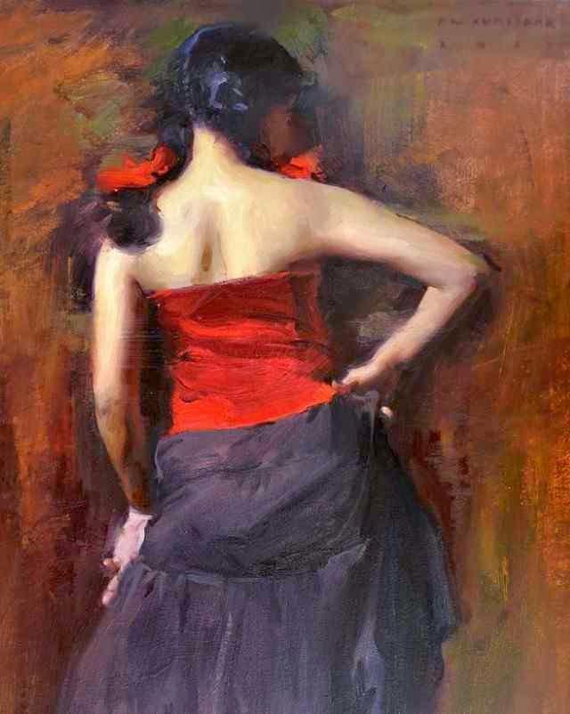 Индийский художник. Pramod Kurlekar