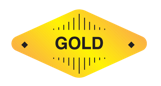 Logo vtube peringkat Gold