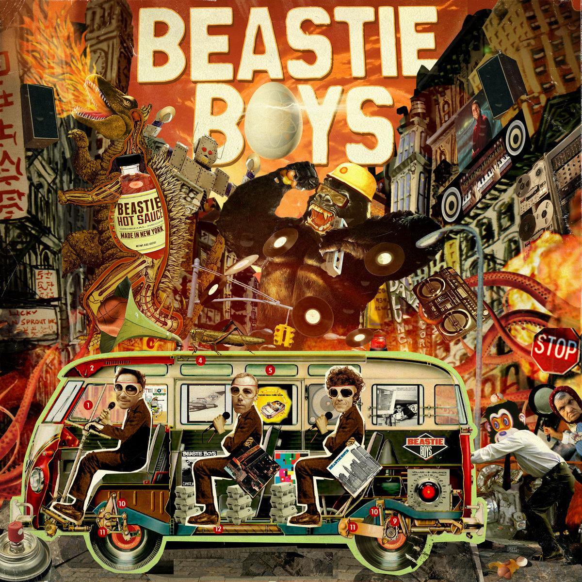 The Beastie Boys Wow! Wow! Wow! Remix Tape 1 & 2