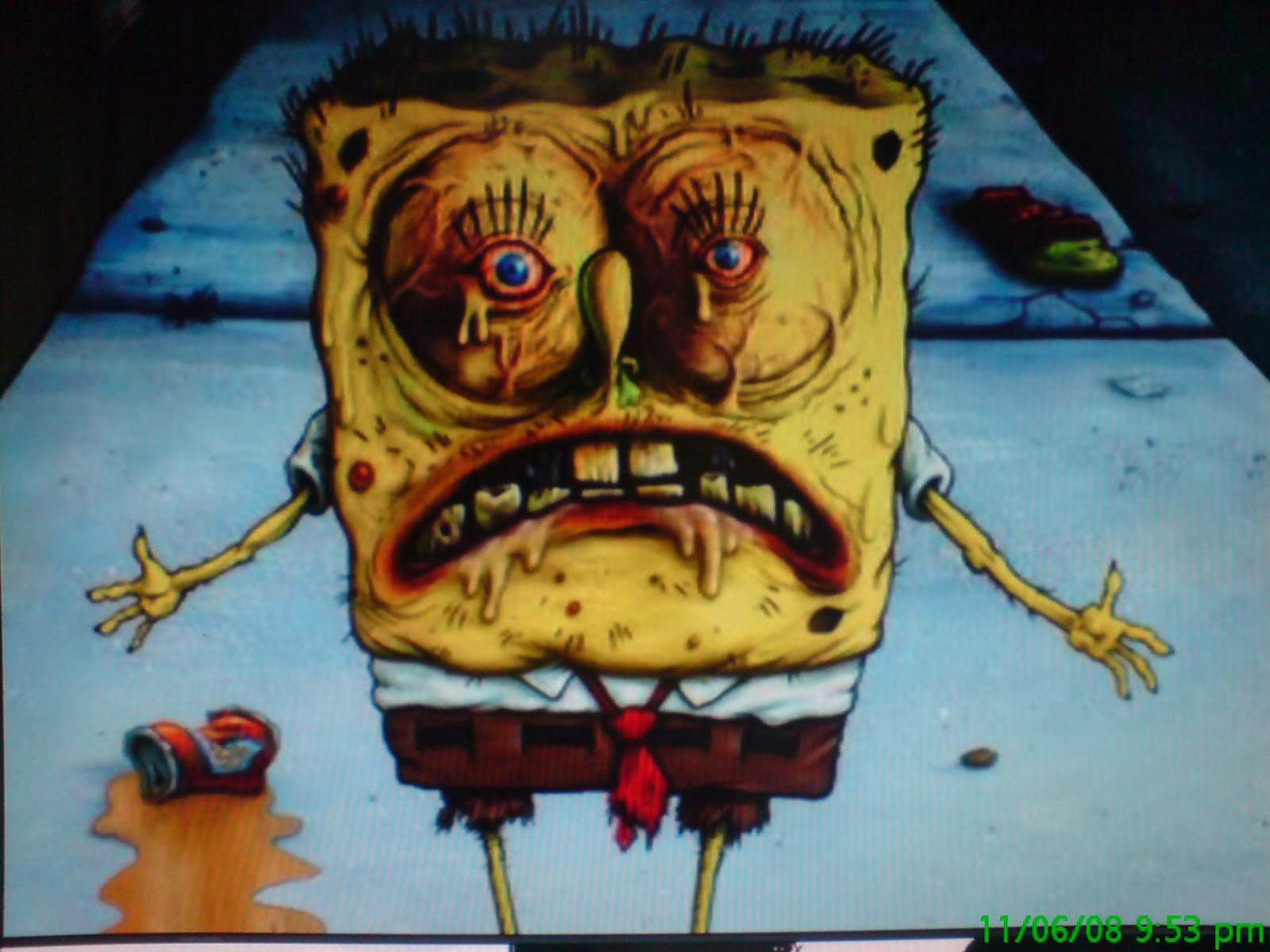 Scary Spongebob Pictures