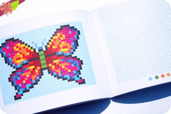 Coloriages pixel art 100% kawaï