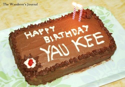 The Wanderer S Journal Making The Birthday Cake For Husband