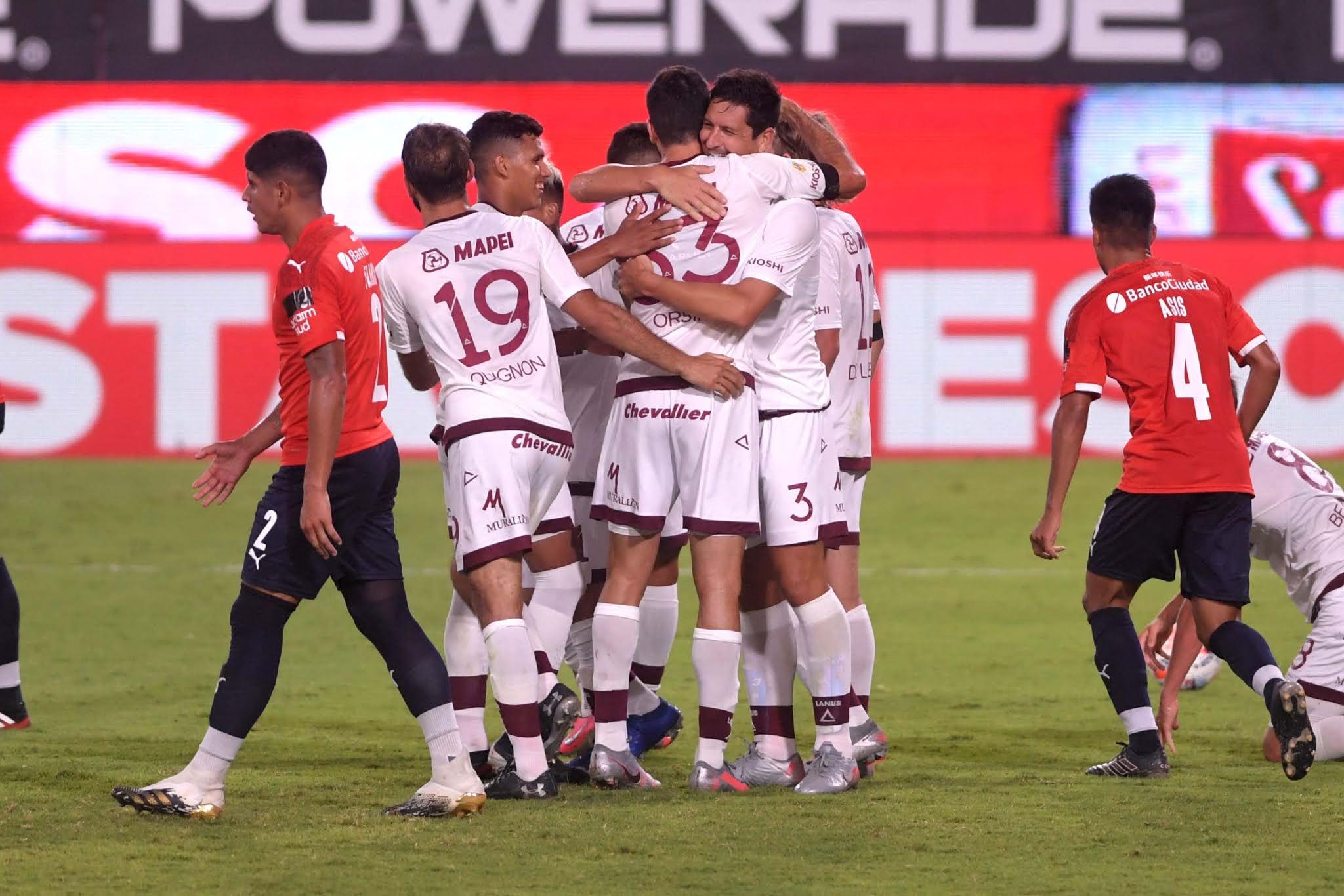 En el debut de Falcioni, Independiente no pudo con Lanús