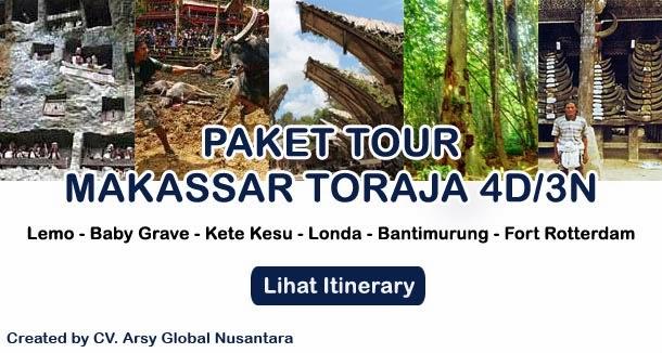 Paket Wisata Murah Tana Toraja 4 Hari 3 Malam