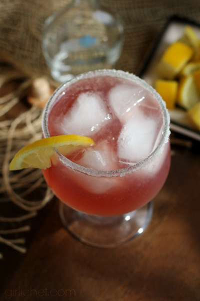Raspberry Lemonade Margarita