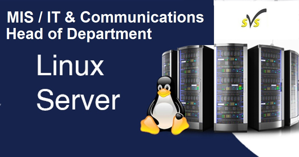 IT MIS & Communications Manager - Linux Server