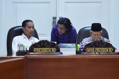 Presiden Jokowi dan Jajaran Bahas Langkah Penguatan Neraca Perdagangan