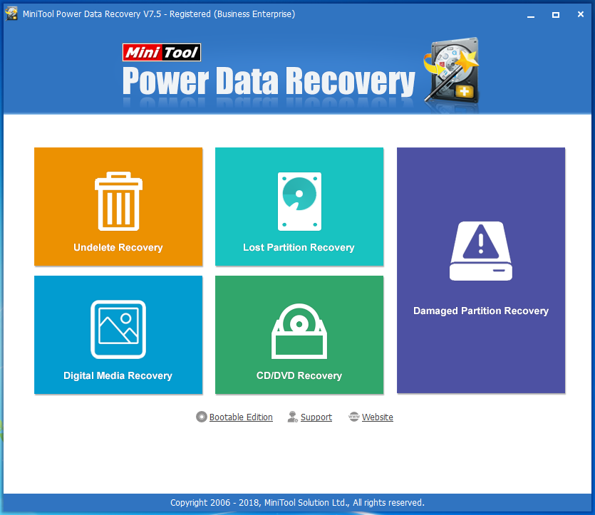 minitool power data recovery boot disk 15.18