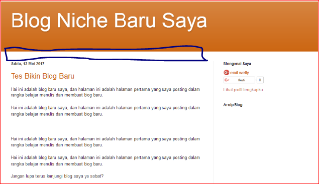cara edit tampilan blog platform blogspot