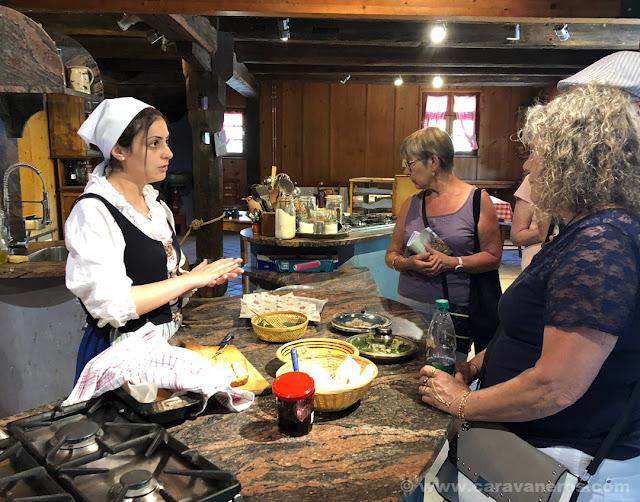 Taller de cocina tradicional alsaciana en el Ecomuseo de Alsacia | Alsacia y selva negra en autocaravana con niños