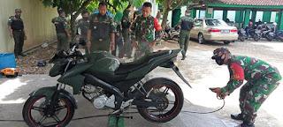 Koramil 411-01/Metro Dan DPC HIPAKAD Kota Metro Resmikan Steam Motor Bersama
