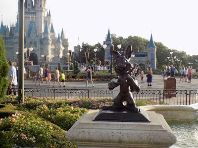 View across the Plaza, Magic Kingdom