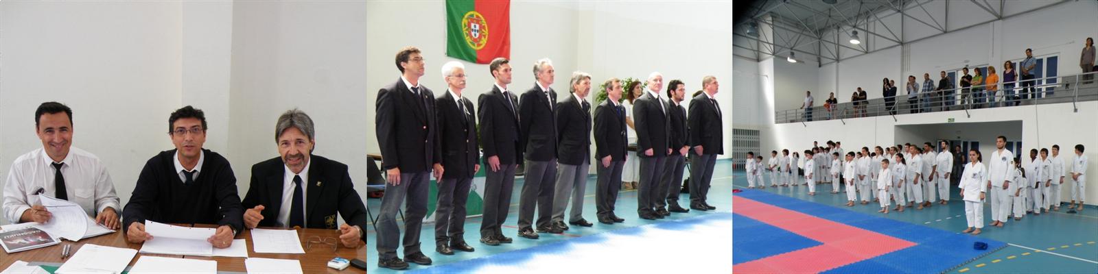 e1dc86bbf59a3 A experiência de Álvaro Santos, Leonardo Pereira e Gualter Morgado,  liderados pelo Sensei José Campos fizeram deste evento um sucesso.