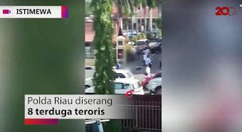 Mapolda Riau Di Teror Teroris Menggunakan Samurai