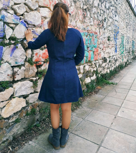 Tilly and the buttons Francoise dress alleycraft