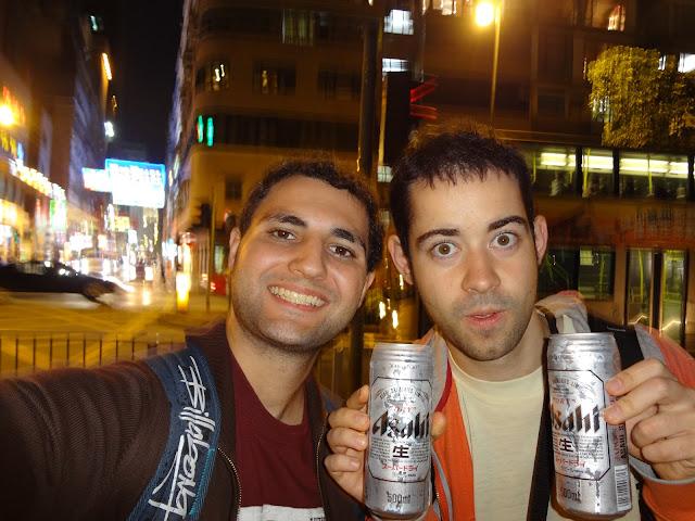 Cerveza Asahi en Hong Kong