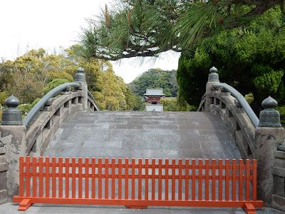 鶴岡八幡宮太鼓橋
