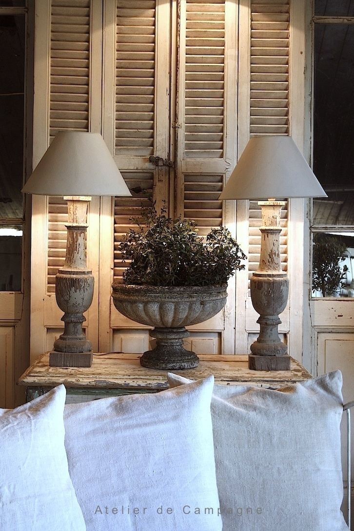 Just Darling Old Shutters New Uses