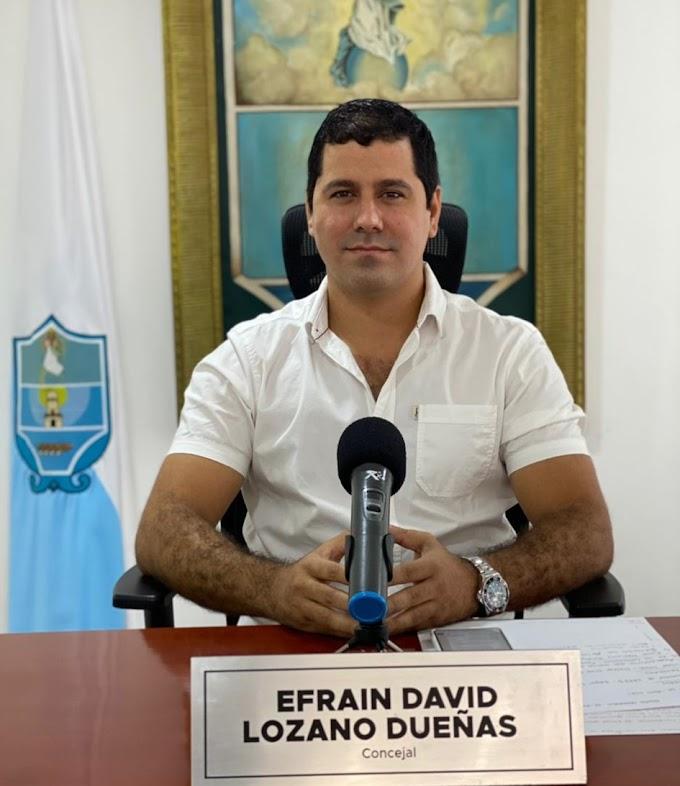 """""""La cancha La Castellana no es un negocio de Familia ni un bien que se hereda"""": Concejal Efraín Lozano"""