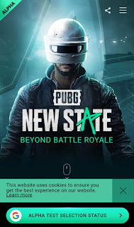 How to download PUBG New State Alpha Test App