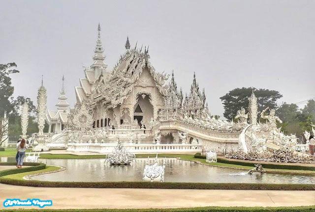 White Temple. Chiang Rai. Tailândia