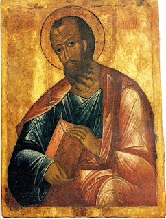 And then, there's St. Paul of Tarsus...