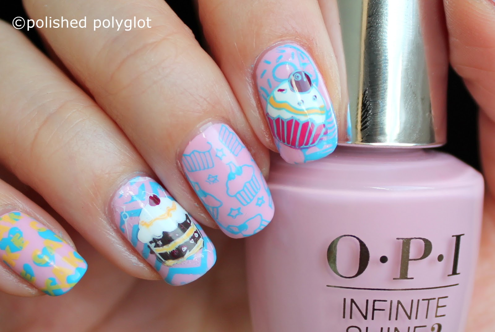 Nail art pastries sweets manicure nail crazies unite do you like sweets and desserts what is your favourite treat prinsesfo Gallery