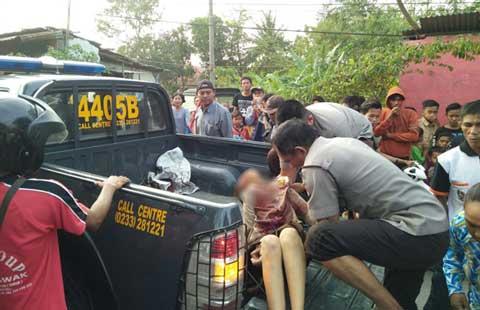 dua pelajar majalengka ditabrak truk hingga tewas