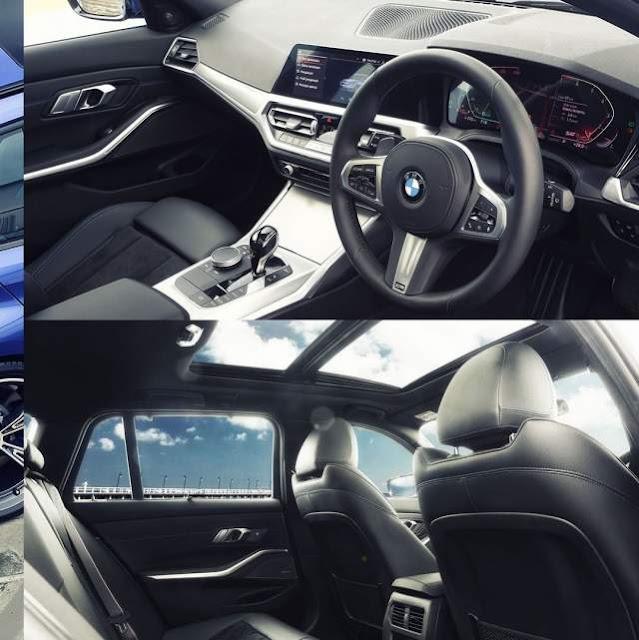 Interior BMW 320i Touring M Sport
