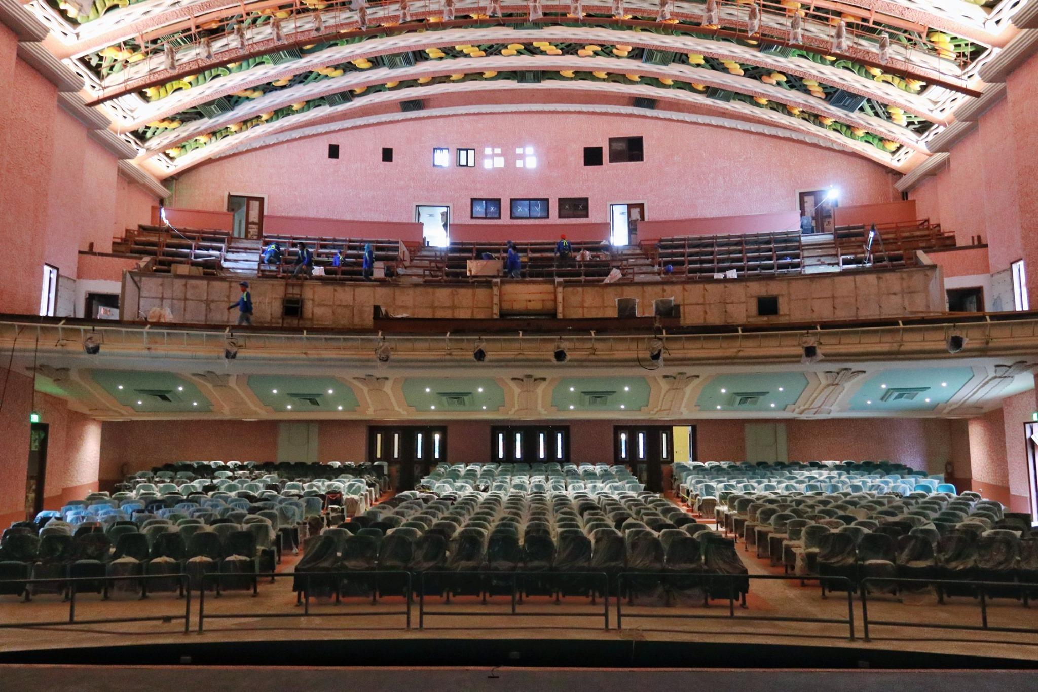 Photo Newly Restored Manila Metropolitan Theater Before It's 2021 Opening