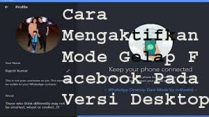 Cara Mengaktifkan Mode Gelap Facebook Pada Versi Desktop 1
