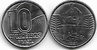 10 Cruzeiros, 1991