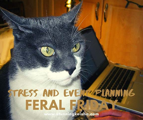 Feral Friday: Stress and Event Planning