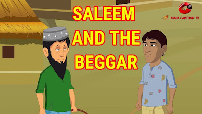 Saleem And The Beggar story in english
