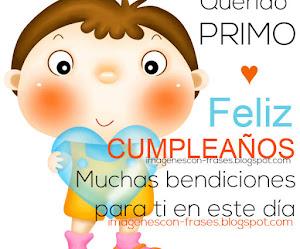 Feliz Cumpleaños Querido Primo