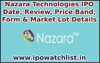 Nazara Technologies IPO Detail
