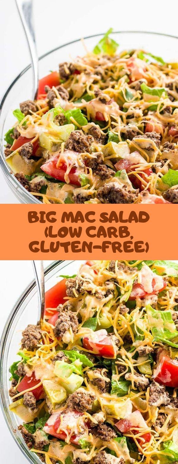 BIG MAC SALAD (LOW CARB, GLUTEN-FREE) #salad #glutenfree