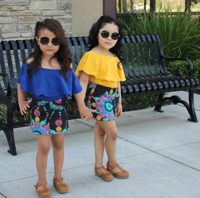 Stella Fashion صور ملابس أطفال بنات للعيد 2019