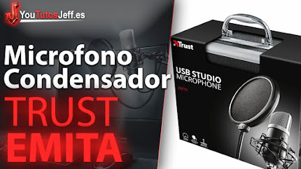 Trust Emita Review Español - Microfono con Condensador Perfecto para Youtubers