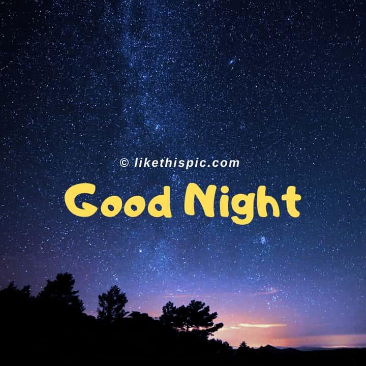 Good Night Img.